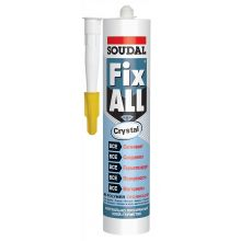 Прозрачный клей-герметик Soudal Fix All Crystal (Соудал Фикс Алл Кристал)
